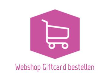 Webshop giftcard bestellen